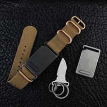 EK20 Titanium Buckle Knife with Sheath