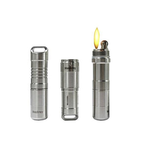 X7S Multifunctional EDC Capsule Flashlight & Lighter Kit