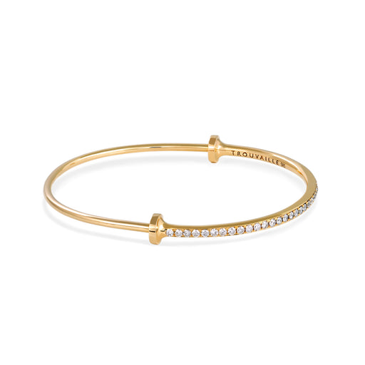 I Classic Pavé Bangle