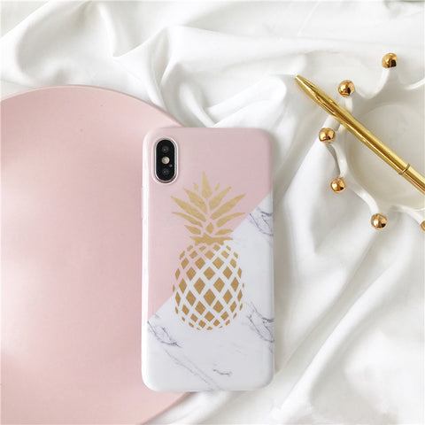 Pineapple Print Case