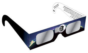 Rainbow Symphony Eclipse Glasses, ISO and CE Certified, For the 2019 Annular solar Eclipse