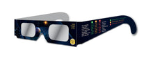 Rainbow Symphony Eclipse Glasses, ISO and CE Certified, Custom Print by Avenues of the Sky Workshops For the 2017 Solar Eclipse