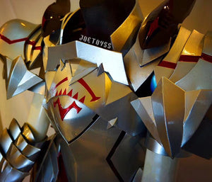 Detail pic of Mordred armor