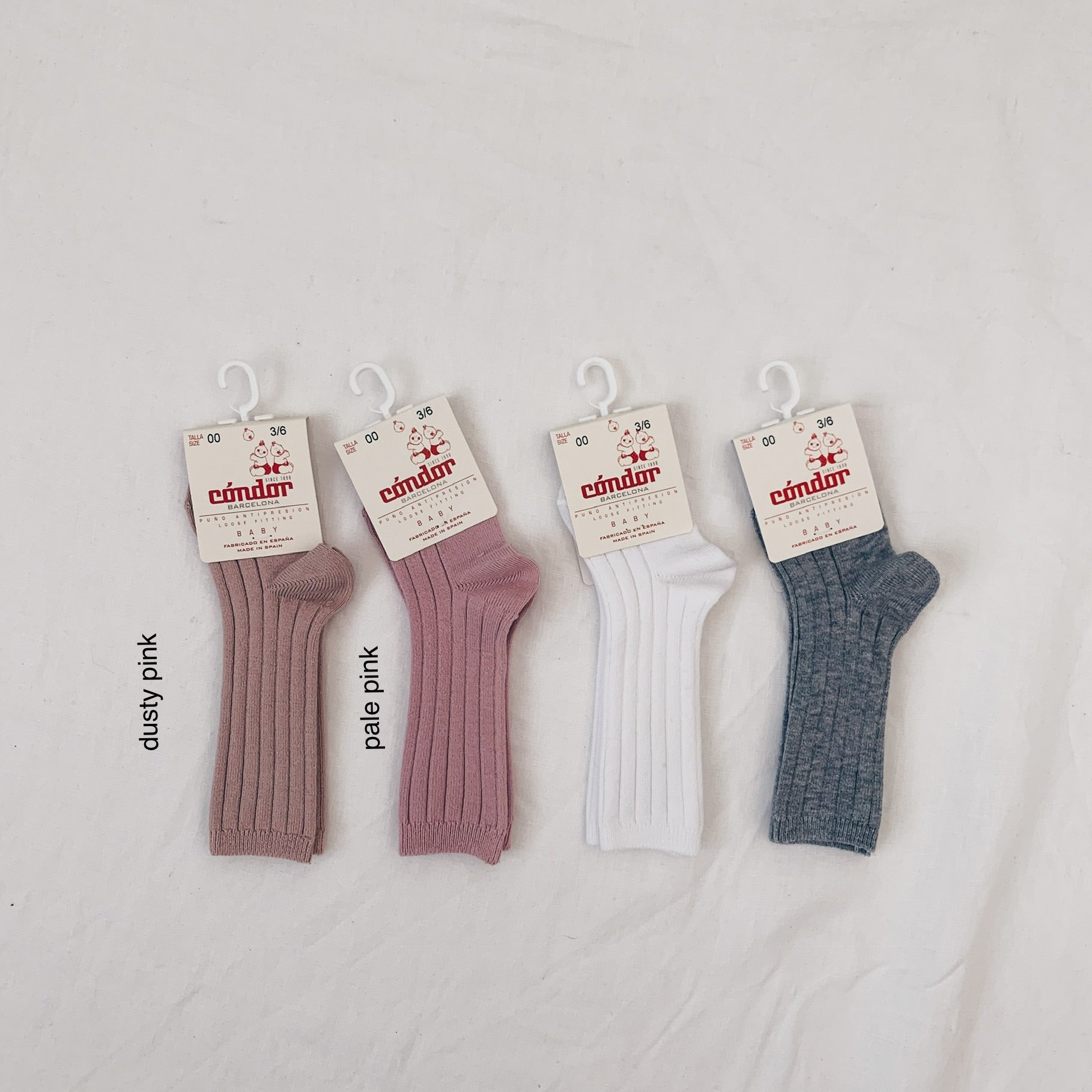 Condor Knee High Ribbed Socks