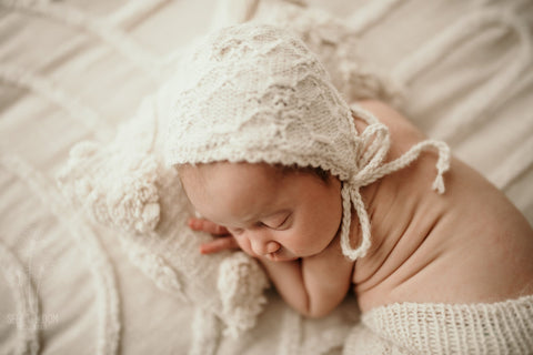 'Bellingen' Bonnet - To Match Bloomers - All Colours - Newborn