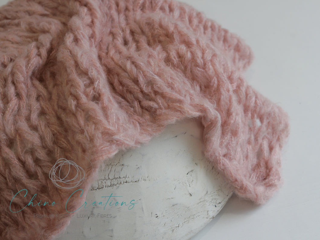 Rustic Wispy Textured Layer - Pink