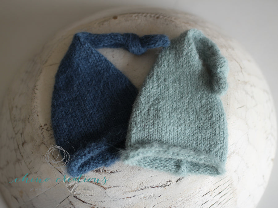 Fuzzy Sleepy Cap - Newborn - Brushed Alpaca - All Colours