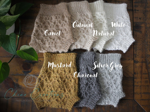 'Bellingen' Vintage Knit Alpaca Bloomers - All Colours - Newborn