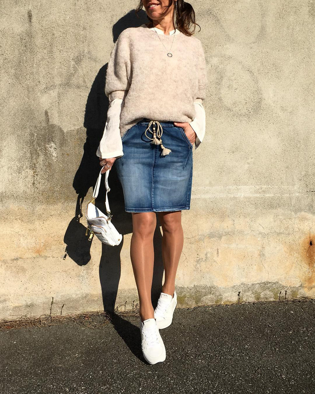 Bluebank Denim Skirt