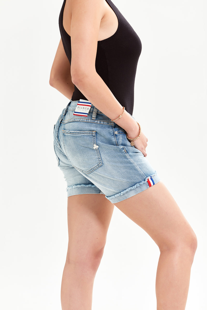 Copal Boyfriend Denim Short