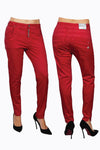 Greenbay Red Boyfriend Fit Pant