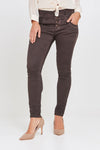 Blake Dark Chocolate Boyfriend Pant
