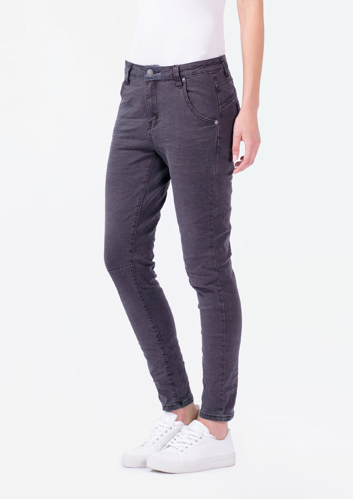 Bay Dark Grey Denim Boyfriend Jean