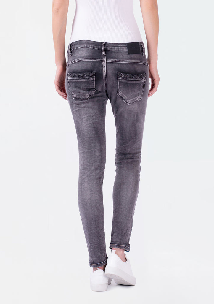 Serra Black Denim
