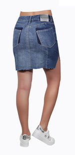 Adventurine Denim Skirt