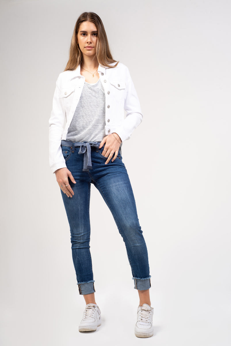 Blue Moon Slim Boyfriend Jean