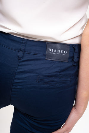 Essonite Navy Boyfriend Pant