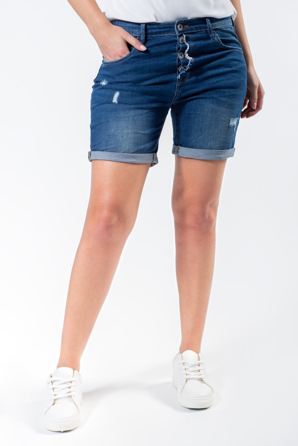 Pinot Blanc Denim Short