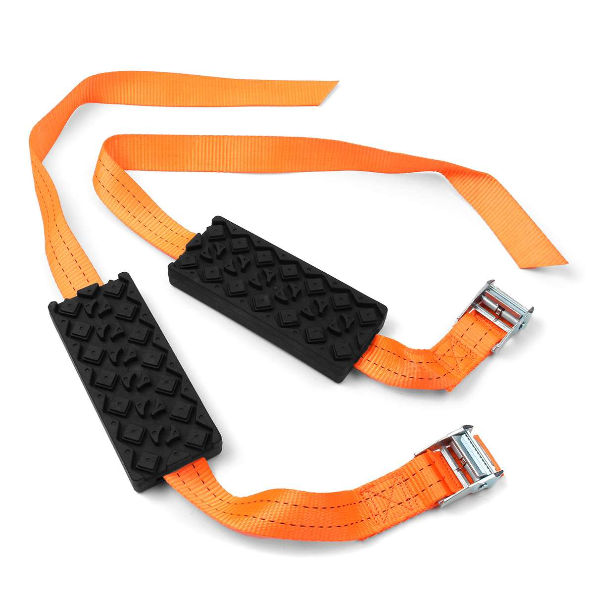 ANTI-SKID - EMERGENCY TIRE STRAPS (2 PCS SET)
