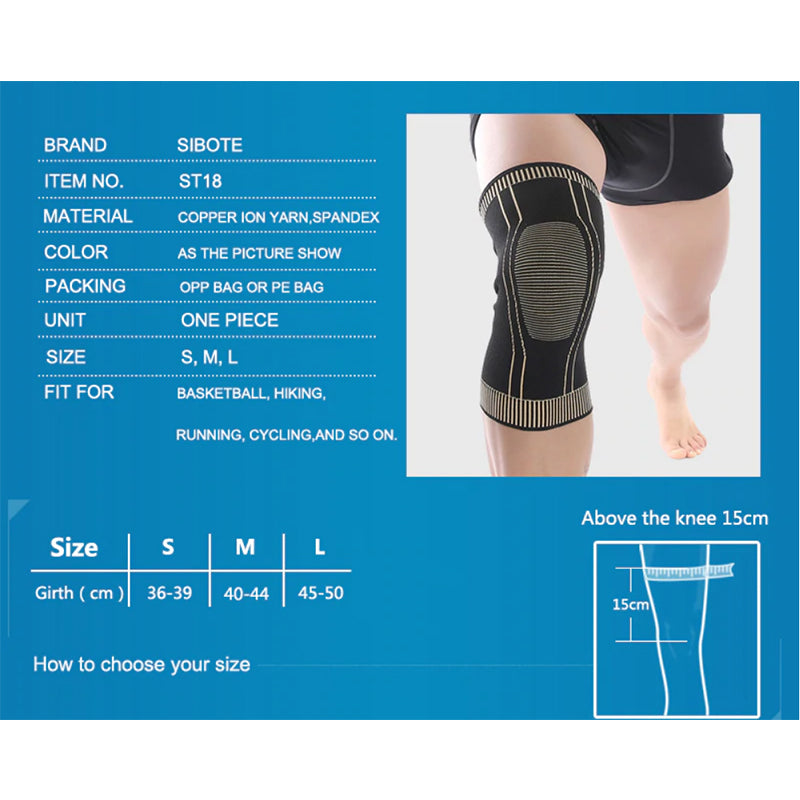 Copper Ion Arthritis Knee Support