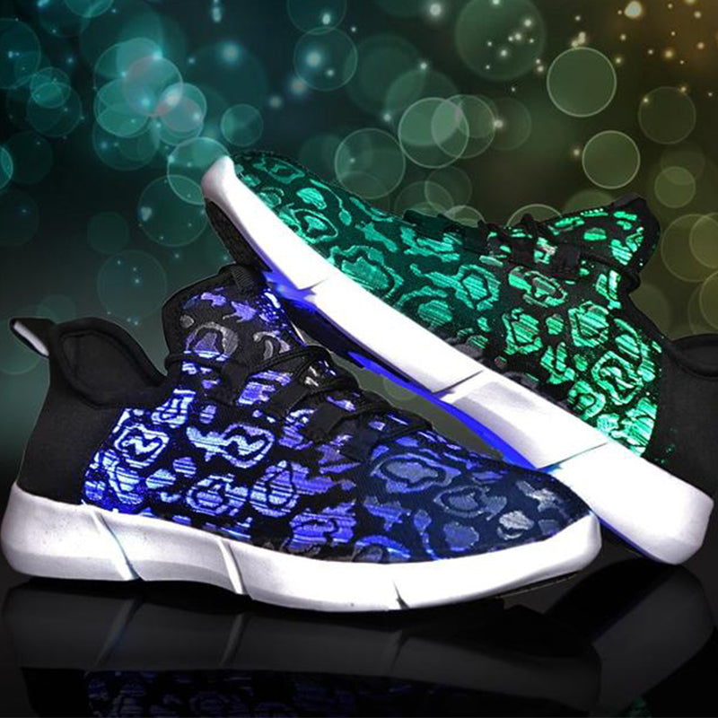 2fd46667fe6e SeEify - Light-Up Luminous Fiber Optic Shoes