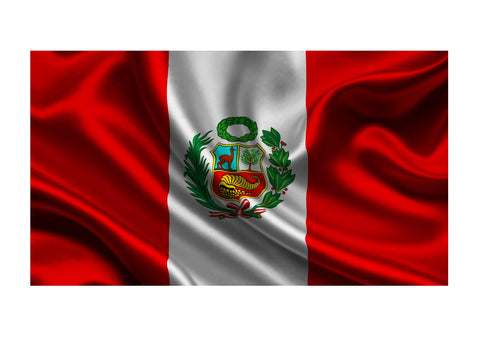 Peruvian National Flag