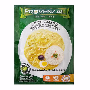 Aji de Gallina seasoning mix Provenzal 100g