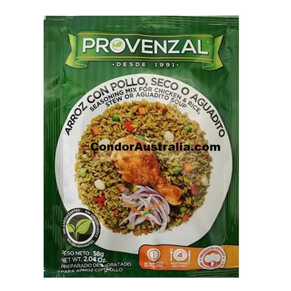 Arroz con Pollo seasoning mix Provenzal 58g