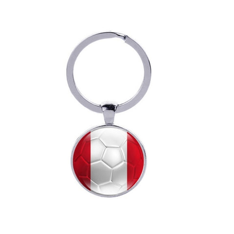 Football key chain flag FIFA 2018