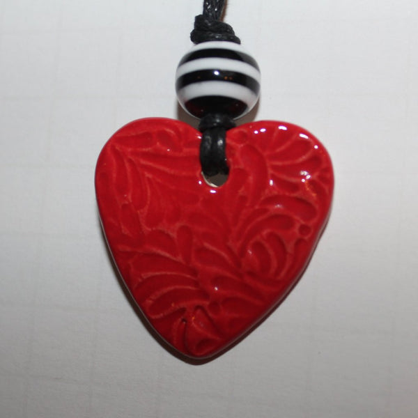 Reddy Heart Diffuser Necklace
