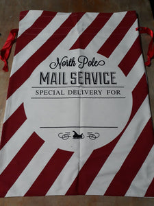 Christmas sack personalised