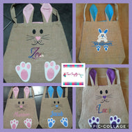 Personalised Easter Bunny Bag
