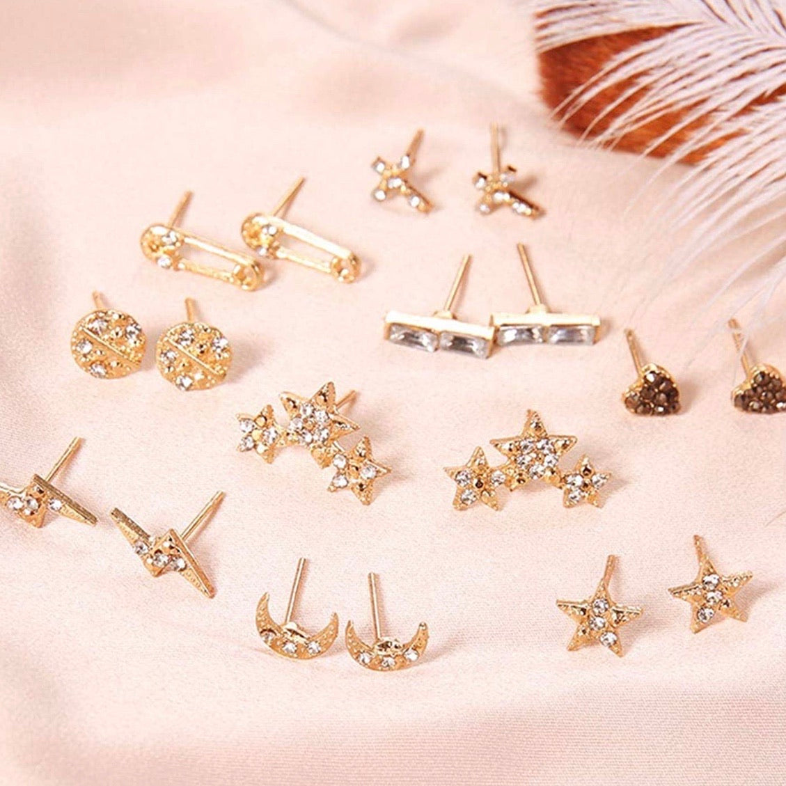 Sparkle stud collection