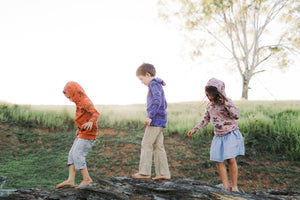 Gather & Moss organic cotton australian made childrens pyjamas