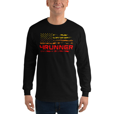 4Runner Throwback Long Sleeve Shirt - Flores Custom Design