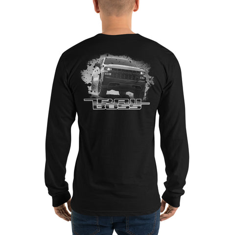 Trail Boss Custom Long sleeve Shirt - Flores Custom Design