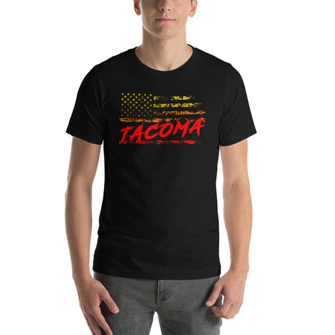 Tacoma Throwback T-Shirt - Flores Custom Design