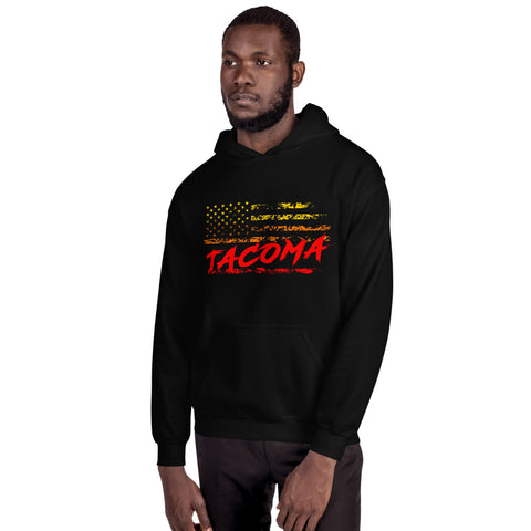 Tacoma Throwback Hoodie - Flores Custom Design