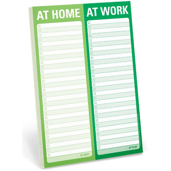 Perforated Pad - At Home/ At Work