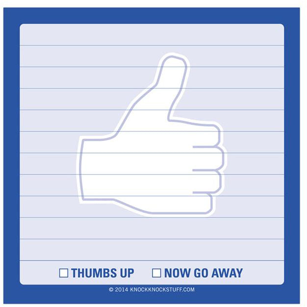 Sticky - Thumbs Up