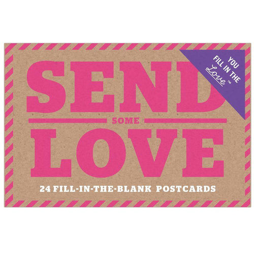 Postcard Book - Send Some Love (24 pcs)
