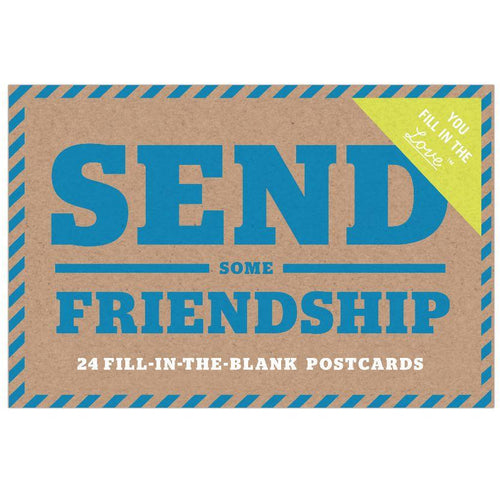 Postcard - Send Some Friendship (24 pcs)