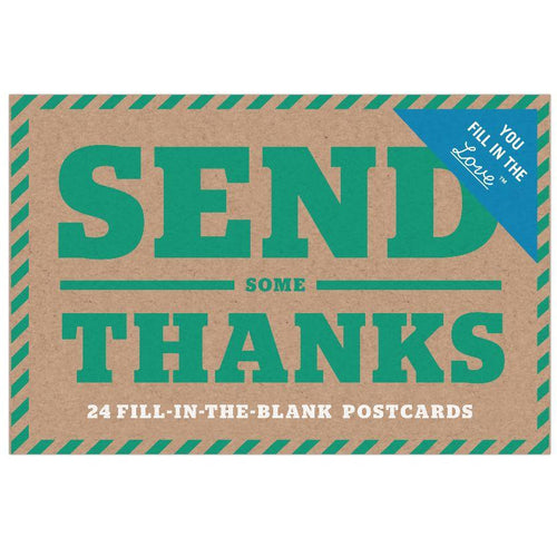Postcard - Send Some Thanks (24 pcs)