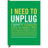 Large Journal - I Need To Unplug