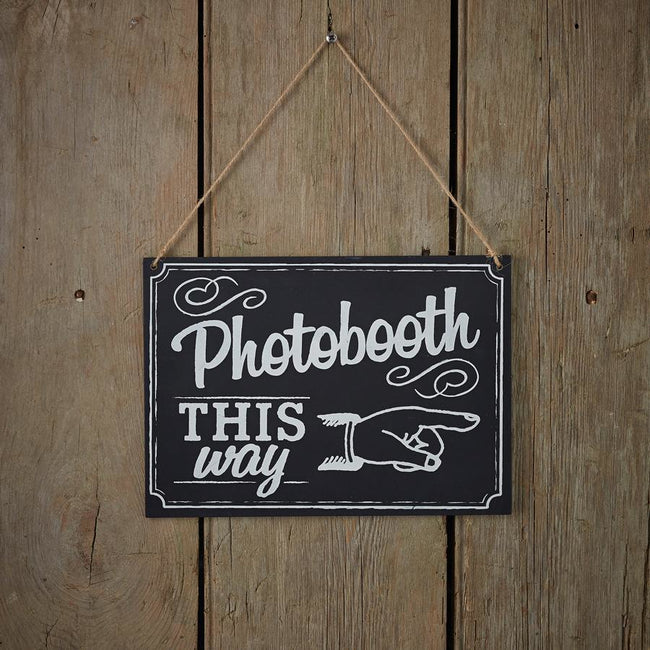 Chalkboard - Photo Booth Sign