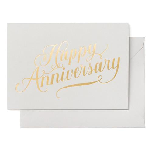 Anniversary Card - Happy Anniversary