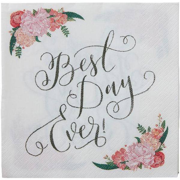 Best Day Ever Paper Napkins