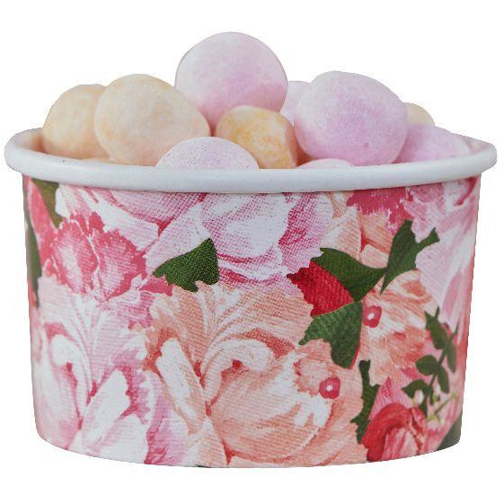 Floral Treat Tubs