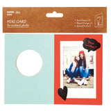Mini Cards for Instant Photo - Red (set of 10)