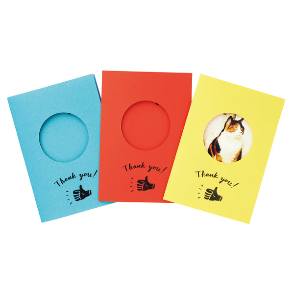 Mini Cards for Instant Photo - Yellow (set of 10)